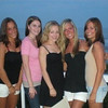 The girls on the deck in Sea Isle.Mallory Capoferri (L), Amber Staska, Casey, Melissa Moritz and Rachael Kemmey