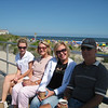 Casey, Aunt Susan, Aunt Janice and Uncle Jay on the OC boardwalk. After loading Aunt Janice's stuff in her car, we all headed down the boardwalk to walk Casey to Bob's Grill.<br /> 7-10-09