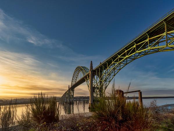Newport Bridge Morning