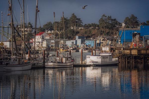 Little fishing village home