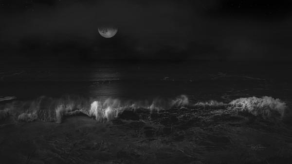 Wish Upon a coastal moon