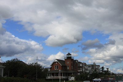 Day of interesting clouds & light @ SeaGirt