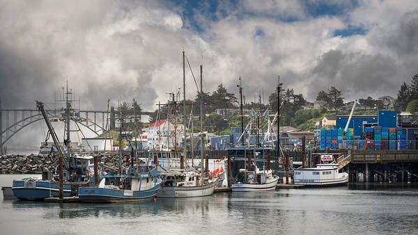 Newport, Oregon Bayfront