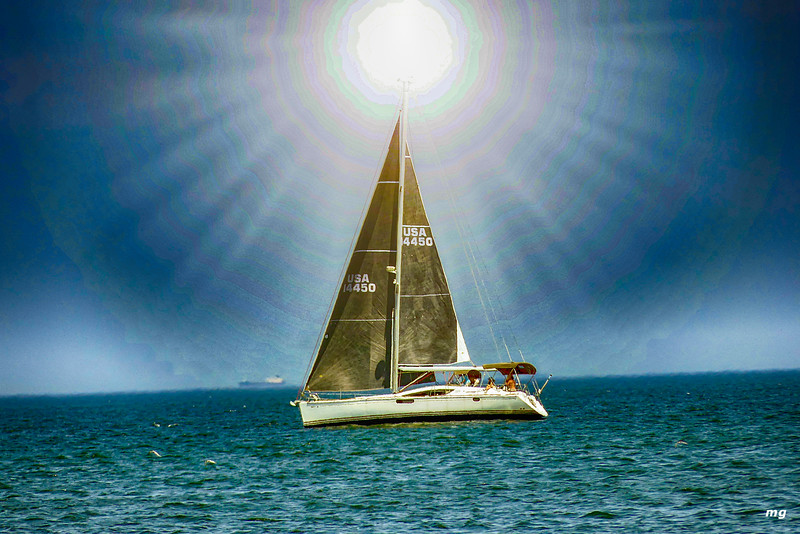 July Sailing hdr nik