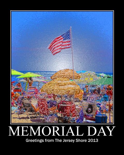2013 Memorial Day Poster