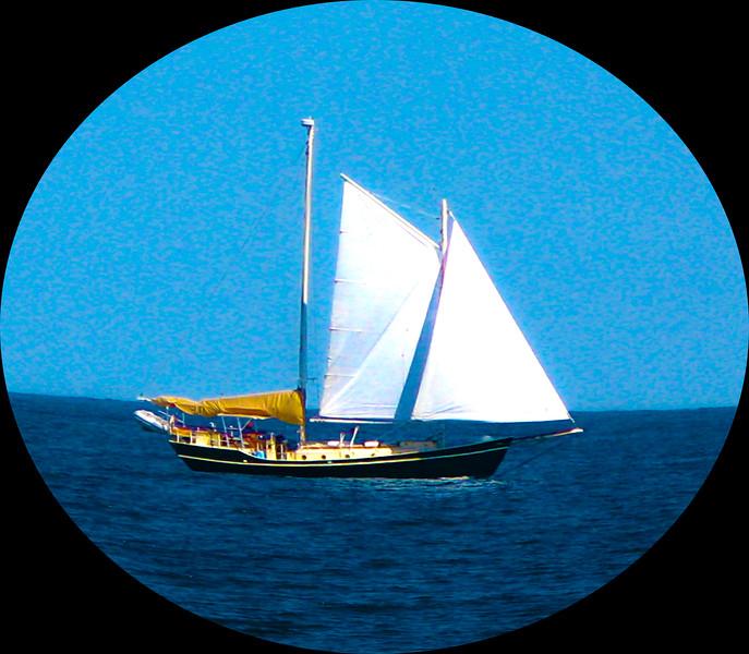 Boat telescope