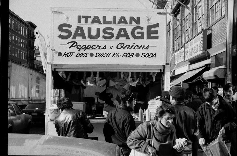 Sausage BW