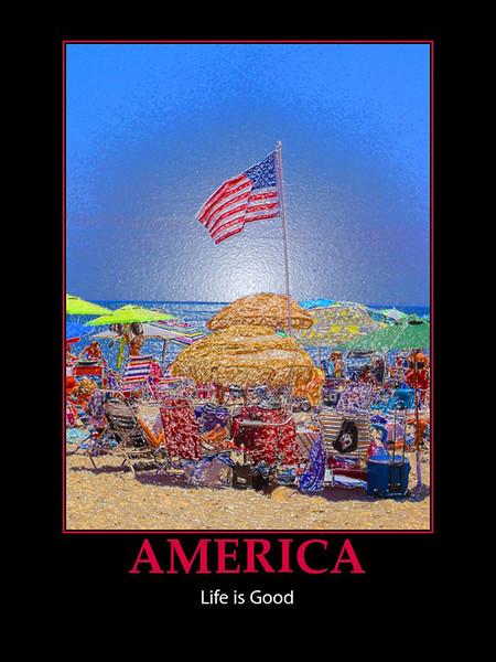 Photo from July 4th, 2012, Ship Ahoy Beach Club...This photo represents all Holidays in the USA!!