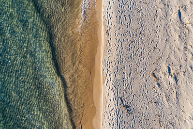 Oneka Beach from Above