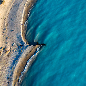 Point Betsie Blue Waters Aerial