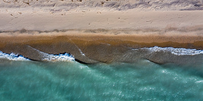 Arcadia Waves and Beach Aerial