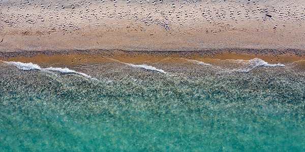 Empire Waves and Beach Aerial