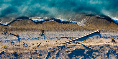 Point Betsie Shore Aerial