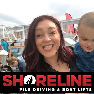 Shoreline Pile Driving
