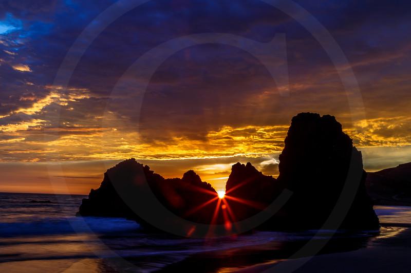 Sunset Peekaboos