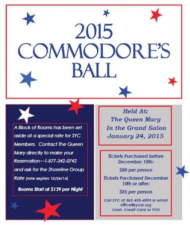 2015 Commodore's Ball