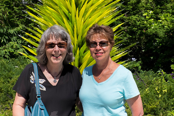 Chihuly with Leslie