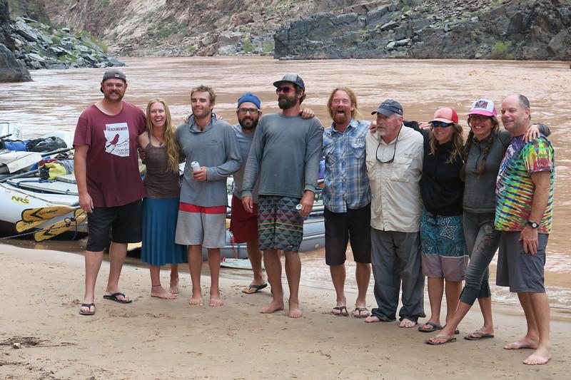 Our crew; Chris,Riley,Trevor,Easy,Tyler,Jason, Bill, Brie, Erica, and Walt.