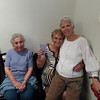 I am with my two great-aunts. Aunt Alice is 98 years old and Aunt Edith is 91!