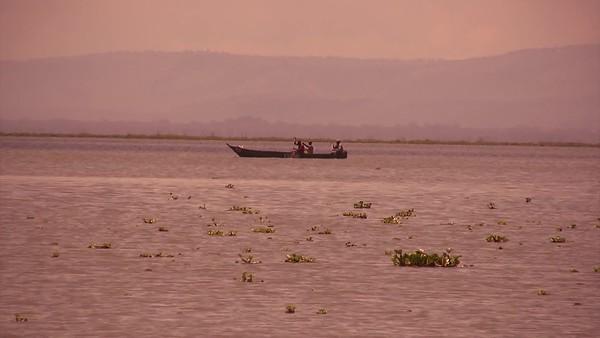 זריחה באגם ברינגו שבקניה