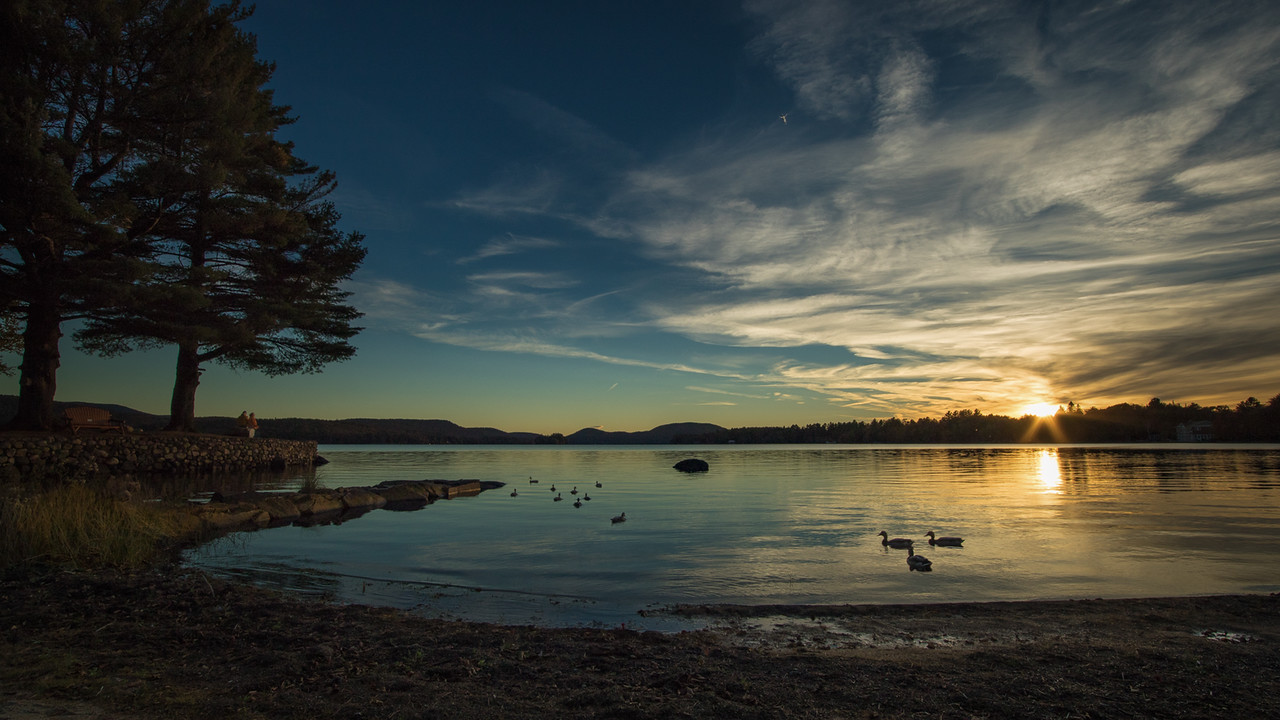 The End of an Adirondack Day