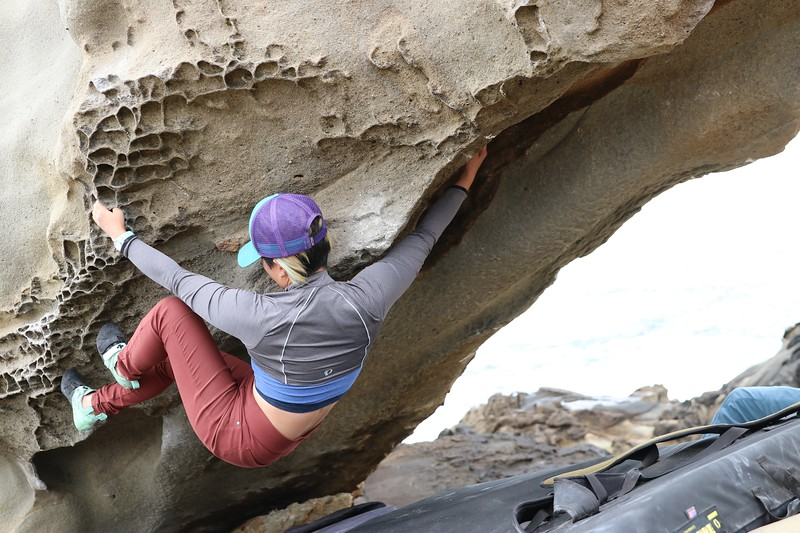 Bouldering at Salt Point State Park, CA