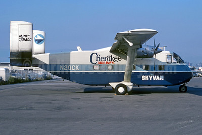 Cherokee Airlines Short Brothers SC-7 Skyvan 3-20 N20CK (msn SH.1857) VNY (Christian Volpati Collection). Image: 953256.