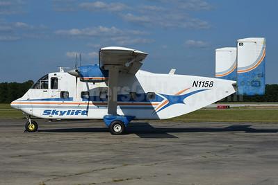 Skylift Taxi Aereo Short Brothers SC-7 Skyvan 3 N1158 (PT-PQD) (msn SH.1951) CXO (Jarrod Wilkening). Image: 952684.