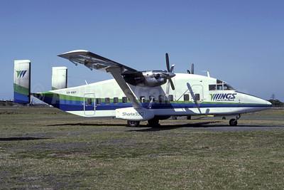 Wings Australia Shorts SD3-30 VH-KNP (msn SH.3063) (Robert N. Smith). Image: 951468.
