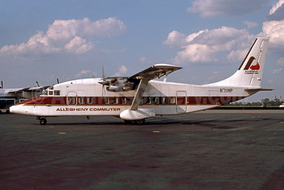 Allegheny Commuter - Pennsylvania Airlines Shorts SD3-60 N711MP (msn SH.3698) DCA (Jay Selman). Image: 400444.
