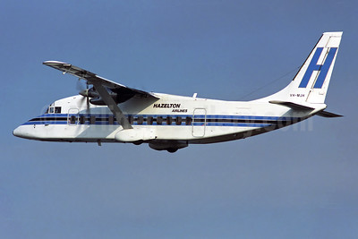 Hazelton Airlines Shorts SD3-30 VH-MJH (msn SH.3758) SYD (Rob Finlayson). Image: 950684.