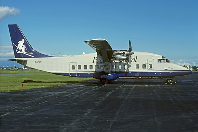Pacific Coastal Airlines Shorts SD3-60 C-GPCF (msn SH.3620) (skier) YVR (Christian Volpati Collection). Image: 928368.