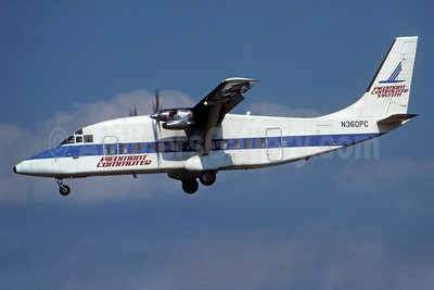 Piedmont Commuter - CCAir Shorts SD3-60 N360PC (msn SH.3691) CLT (Jay Selman). Image: 402556.