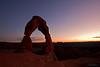 AFTER SUNSET, UTAH, USA
