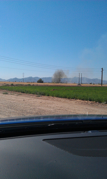 Fire was at: Cotton lane and lower buckeye roads, Goodyear, AZ 6/9/2011