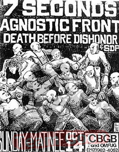 7 Seconds - Agnostic Front - Death Before Dishonor