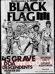 Black Flag - 45 Grave - DOA - Decendants - Husker Du