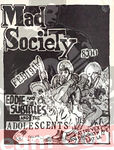 Mad Society - Eddie and The Subtitles - The Adolescents