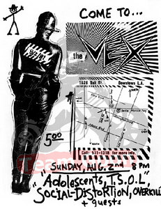 The Adolescents - TSOL - Social Distortion - at The VEX - Los Angeles, CA