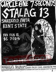 Circle One - 7 Seconds - Stalag 13 - Shattered Faith - Kent State