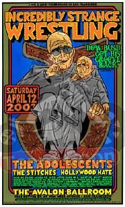 The Adolescents - The Stitches - Hollywood Hate