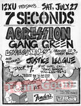 7 Seconds - Agression - Gang Green - Love Canal