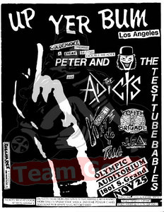 The Adicts - Peter and The Test Tube Babies - Youth Brigade - Secret Hate - JFA - MIA