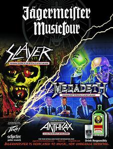Slayer - Megadeth - Anthrax