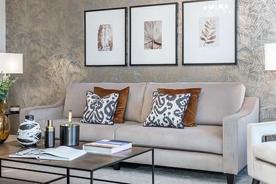 Barratt Homes - Harris - show home interior photography