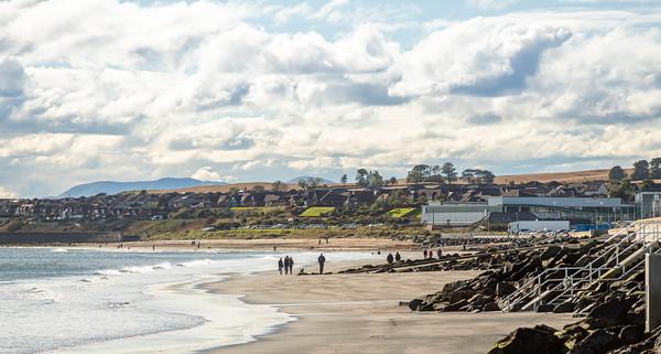 Location photography of Kirkcaldy for Barratt Homes