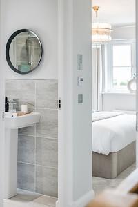 Barratt Homes - Lairds Brae - show home interior photography