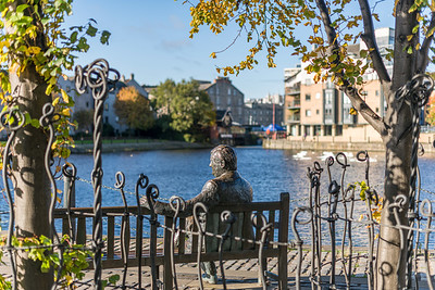 Location photography of Leith for Barratt Homes