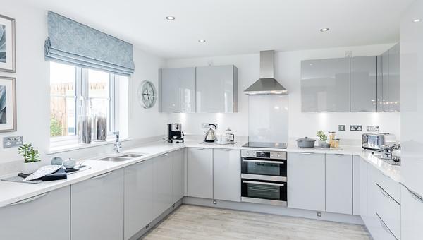 Barratt Homes - Mayburn Walk - show home interior photography