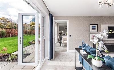 Barratt Homes - Pentland View - Buchanan show home interior photography